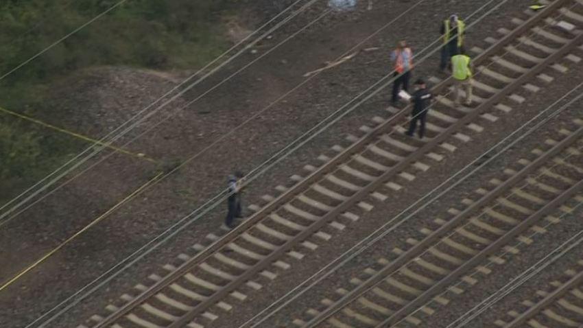 SEPTA Comly Man Struck Train Tacony