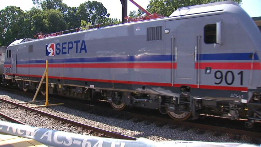 SEPTA New ACS-64 locomotive