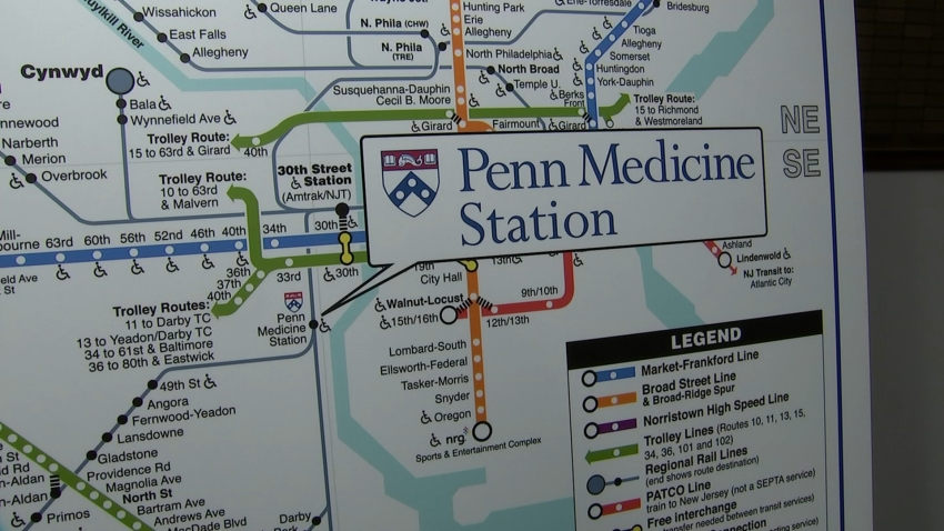 Penn Medicine Inks $3.3M Deal for Naming Rights to SEPTA Train Station
