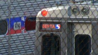 SEPTA regional rail line train