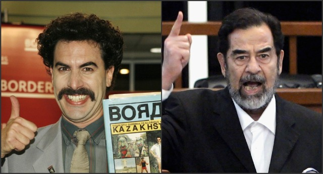 Saddam and Cohen