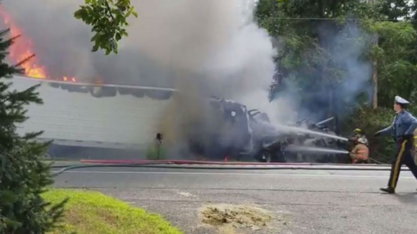 Salem County Fruit Truck Crash