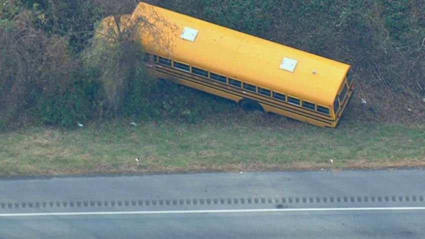 School Bus Crash I95 Langhorne