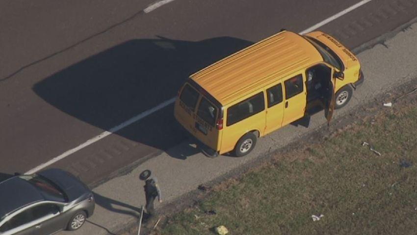 School Van Crash Route 422