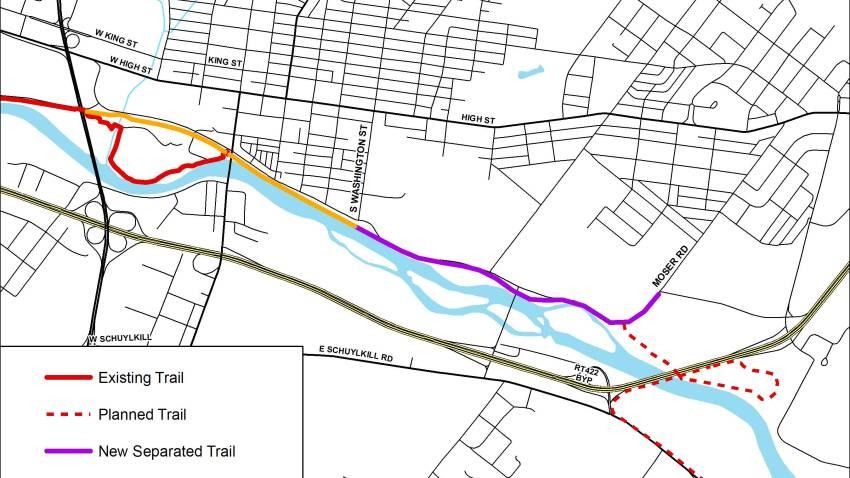 Schuylkill River Trail Pottstown
