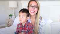 YouTuber Myka Stauffer Says Adopted Son '100 Percent' Supported Change