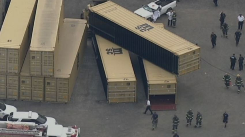 Shipping Container Accident South Philly