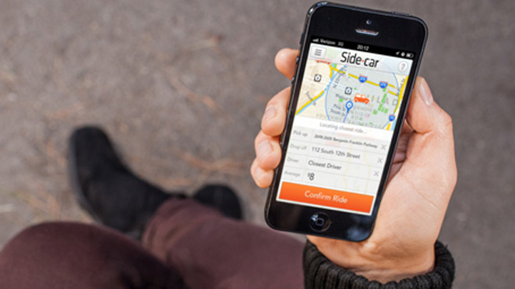 SideCar_App in Hand
