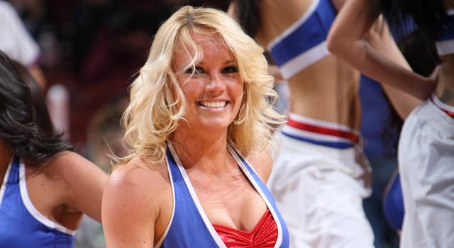 Sixers Cheerleader Melanie