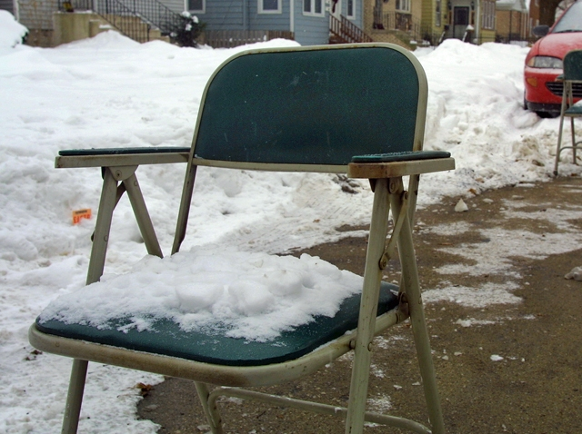 Snow Parking Chair Generic
