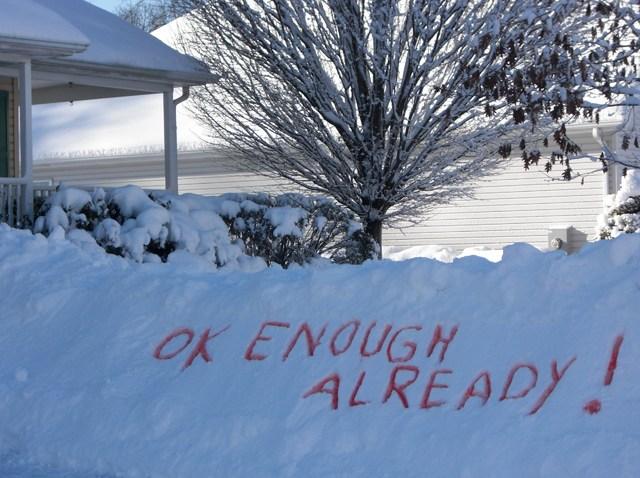 Snowstorm - No More Snow