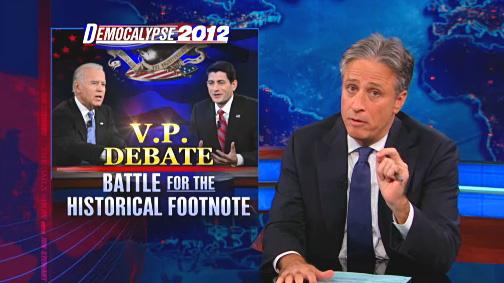 Stewart VP Debate