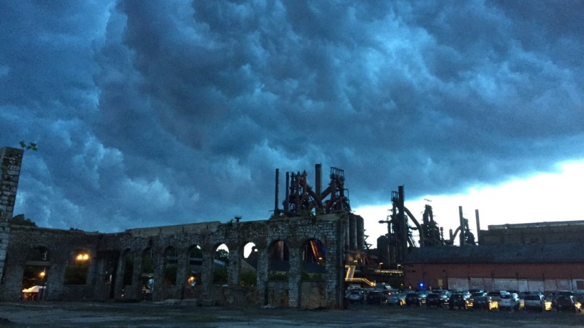 Storm Clouds Over Musikfest