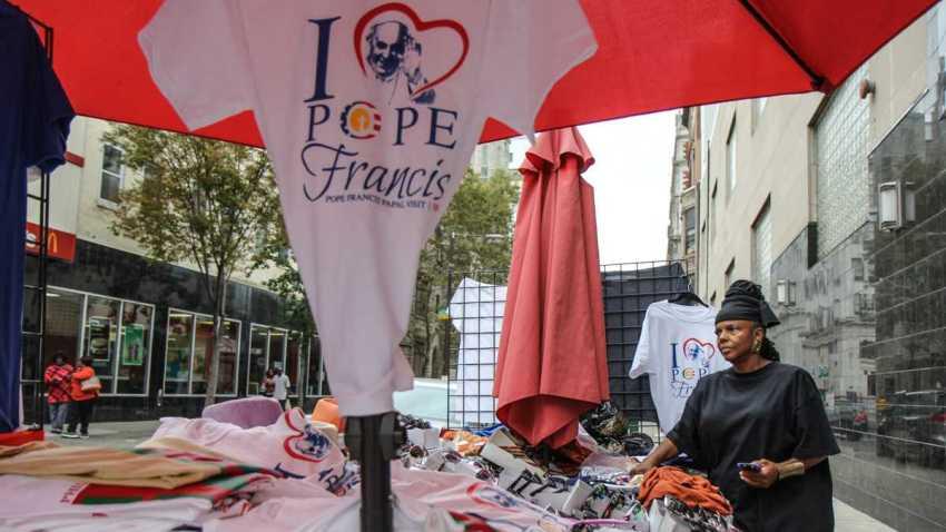 Street Vendors Philadelphia Pope Visit