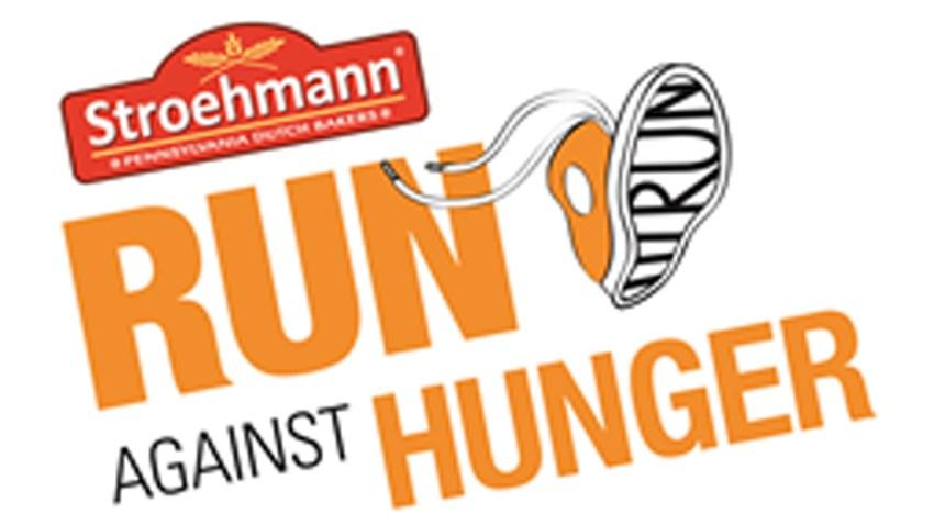 Stroehmann Run Against Hunger logo