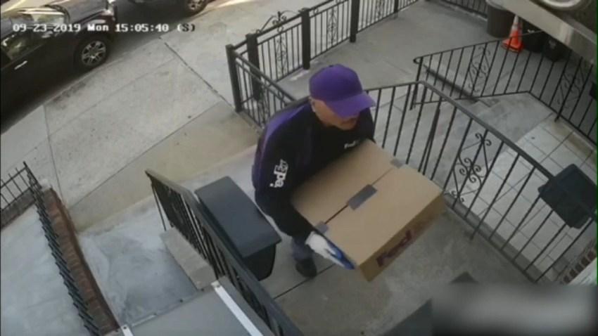 Surveillence BK Fake FedEx
