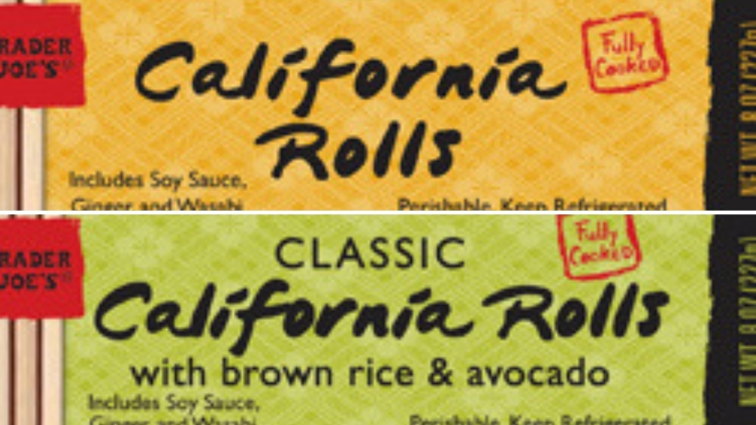Sushi Being Recalled at Trader Joes