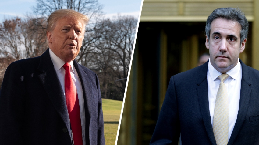Trump-Cohen-Split