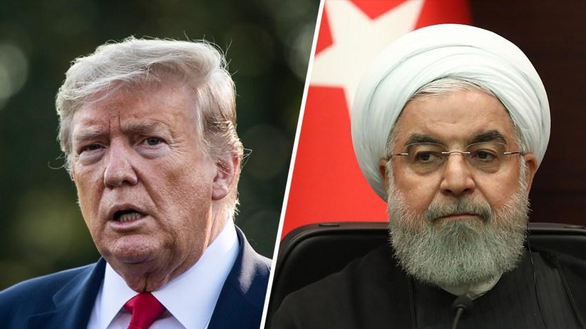 Trump-Rouhani-