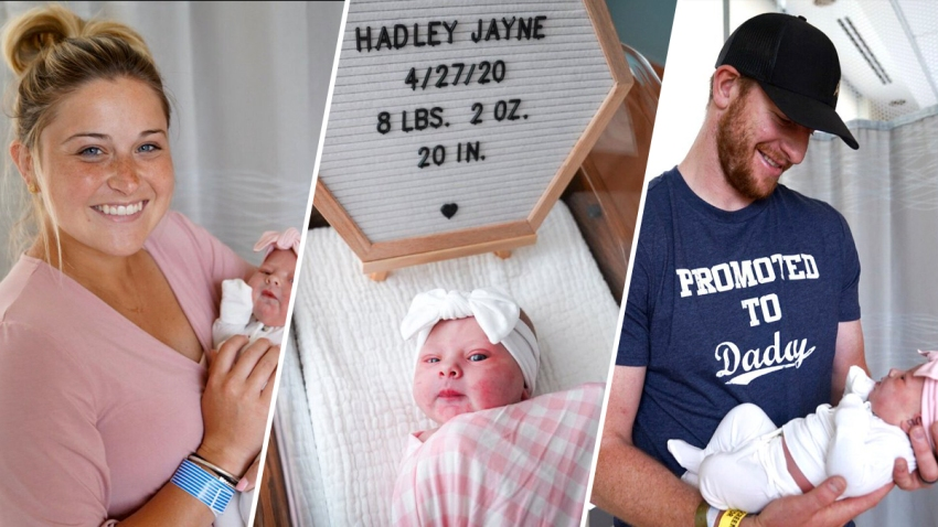It S A Girl Carson And Maddie Wentz Welcome Newborn Baby Nbc10