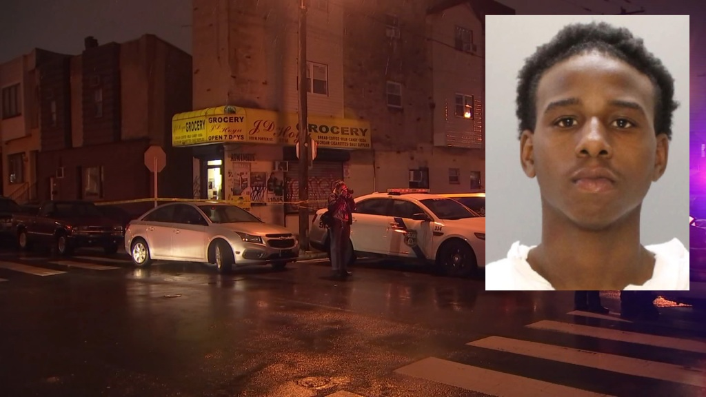 Tyseem Murray is accused of gunning down a man inside this South Philly corner store.