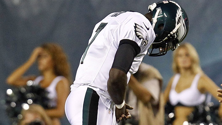 Vick Walks Off