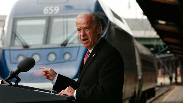 Joe Biden Amtrak Train