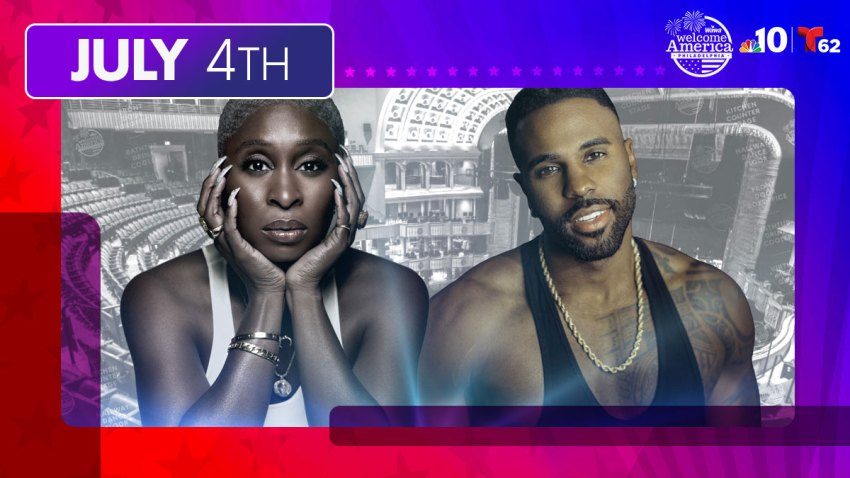 Cynthia Erivo and Jason Derulo