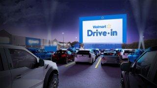 Virtual representation of Drive in at Walmart