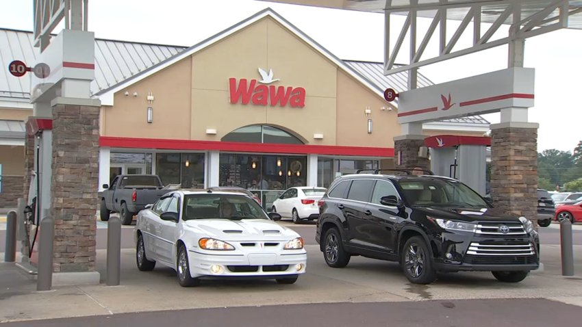 Wawa gas pumps