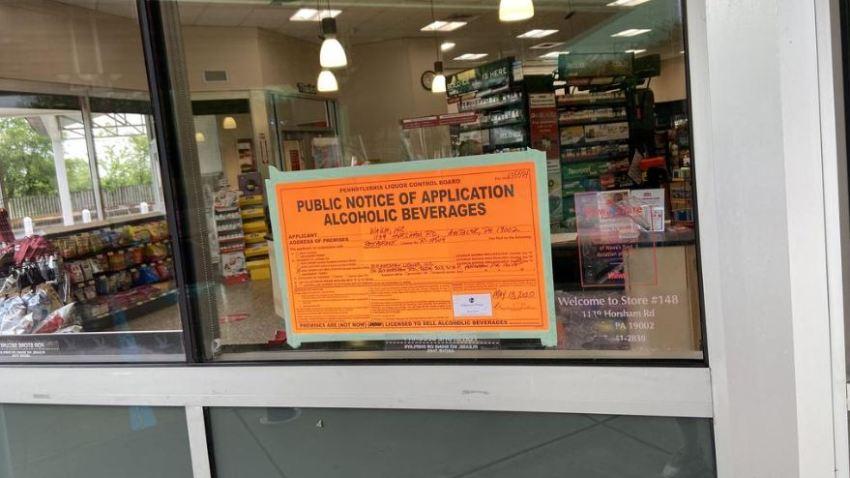 A horsham Wawa store has posted its liquor license application