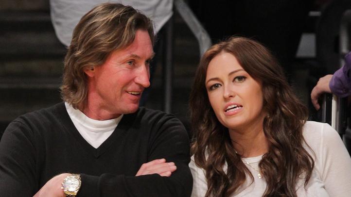 Wayne and Pauline Gretzky