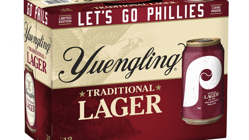 Yuengling's Phillies beer