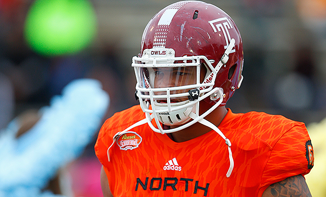 [CSNPhily] Temple's Dion Dawkins drafted by Bills in 2nd round as versatility pays off