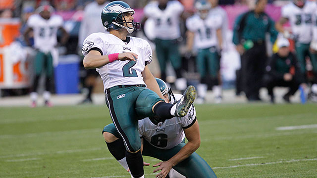 [CSNPhily] David Akers to be inducted into Eagles Hall of Fame on Oct. 23