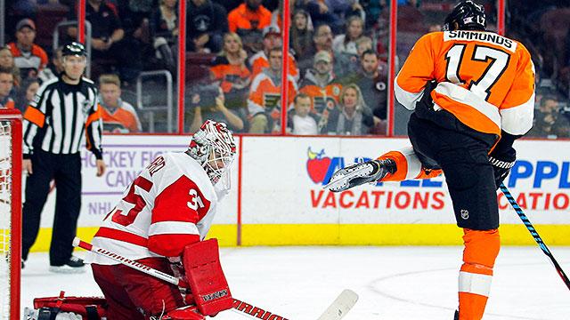 Wayne Simmonds Power Play Key To Flyers Beating Oilers Nbc10 Philadelphia
