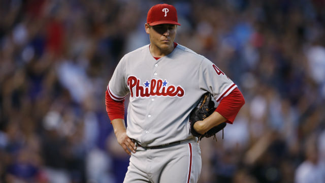 [CSNPhily] Jerad Eickhoff starts strong, unravels in 6th inning of Phillies' loss to Rockies