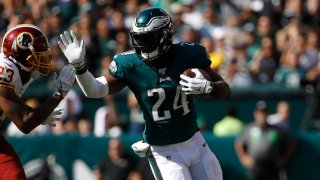 [CSNPhily] Jordan Howard reacts to light workload in Eagles debut