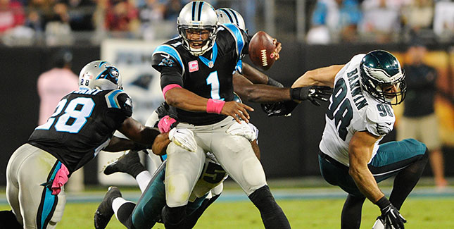 [CSNPhily] Position Breakdowns: How the Eagles stack up against the Panthers