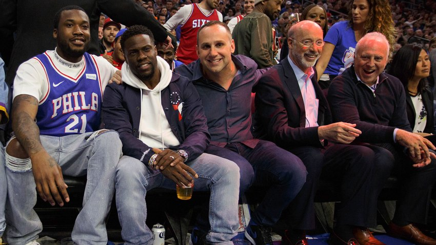 [CSNPhily] Plenty of Philly celebrities take in Sixers' series-clinching victory