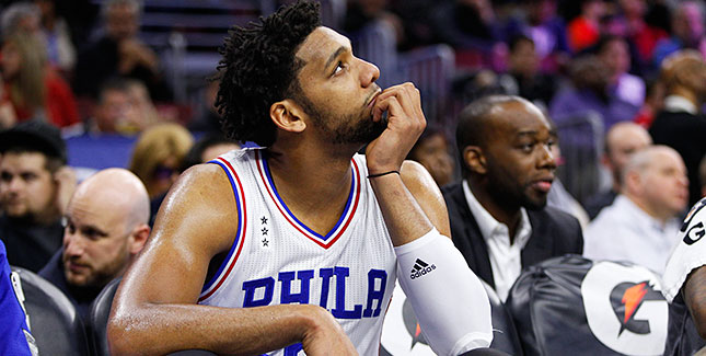 [CSNPhily] Sixers being cautious with Jahlil Okafor early in training camp