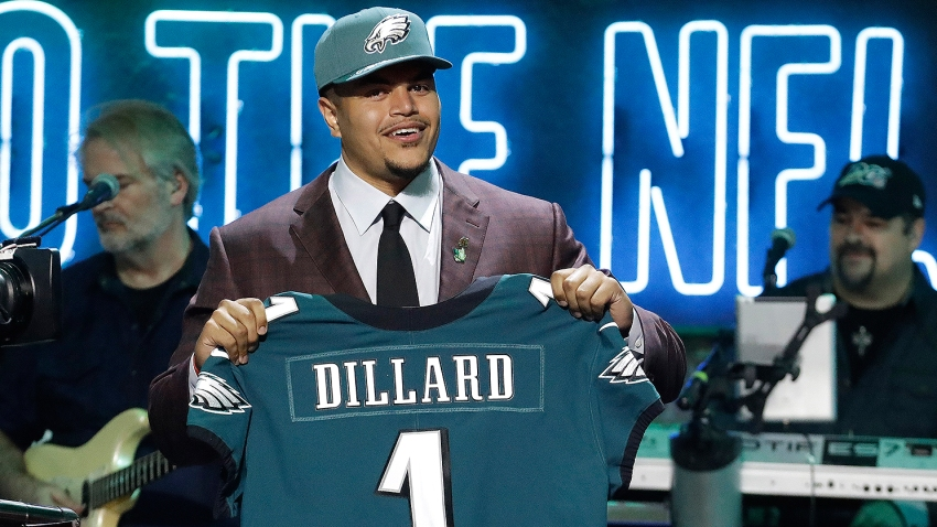 [CSNPhily] Eagle Eye Podcast: Eagles trade up for Andre Dillard