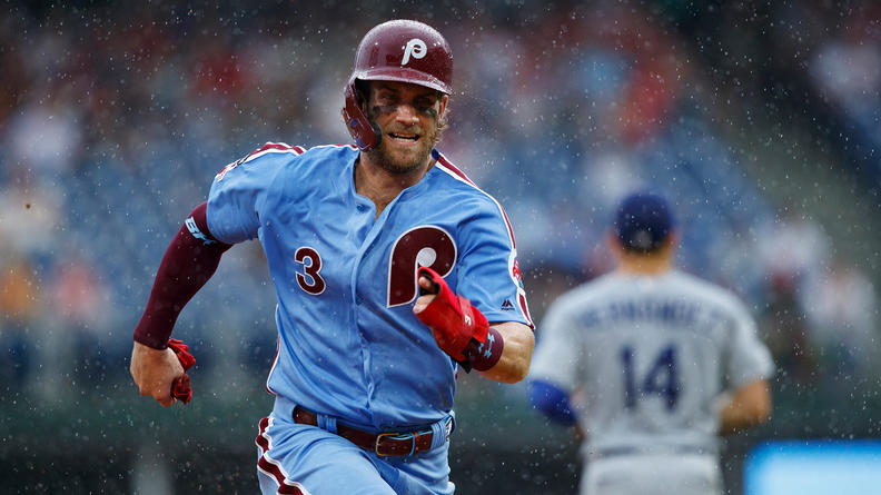 Bryce Harper Phillies Beat Dodgers