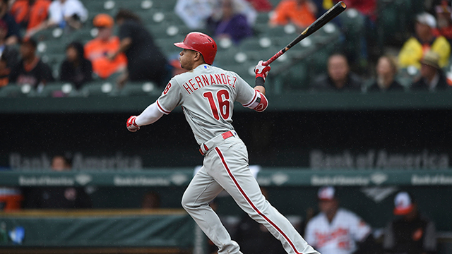 [CSNPhily] Nick Pivetta, timely hitting help Phils complete 1-game sweep of Orioles