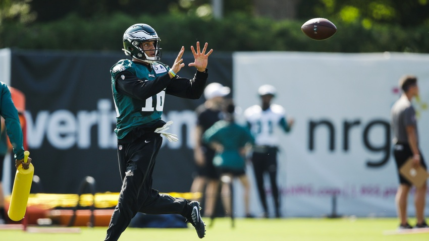 [CSNPhily] Eagles just aren't getting enough production from Mack Hollins