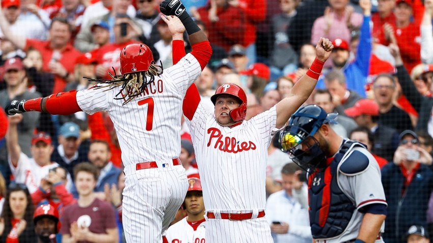 [CSNPhily] The post-win vibe in the Phillies' clubhouse: 'It's going to be fun this year'
