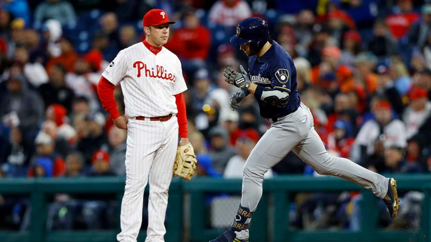 [CSNPhily] Jerad Eickhoff pounded in Phillies loss as Ryan Braun shockingly homers again at CBP