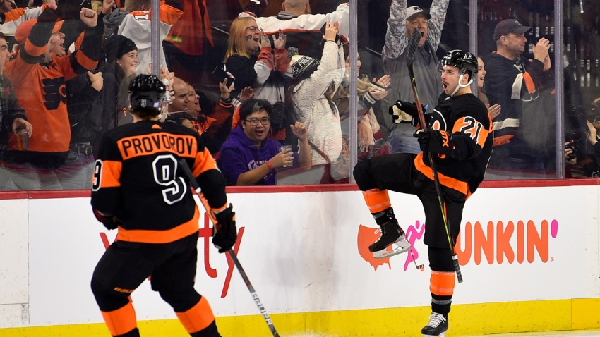 [CSNPhilly] Plenty of leftovers as Flyers eat up vs. Red Wings on Black Friday