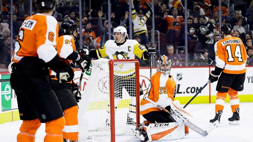 [CSNPhilly] Penguins 4, Flyers 1: Carter Hart finally beaten as point streak ends