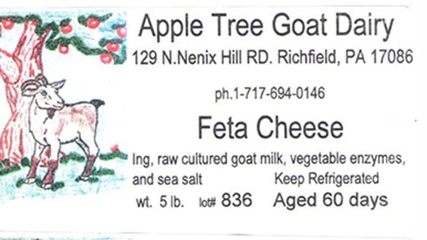 apple tree cheese fda